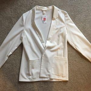 H&M White Blazer Jacket